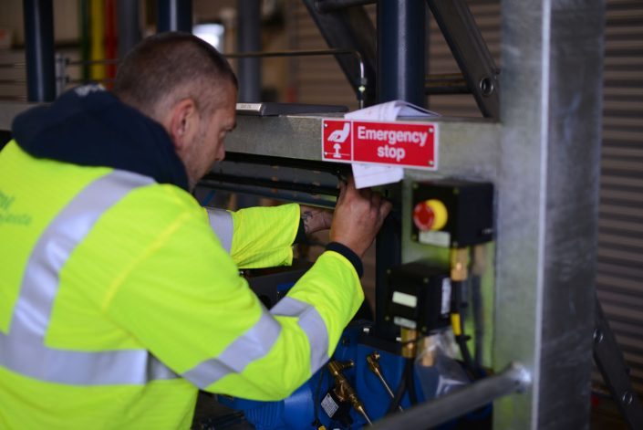 In Control Wiring a Skid Onsite
