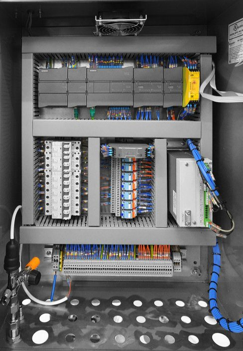 In Control Projects Loading System Control Panel