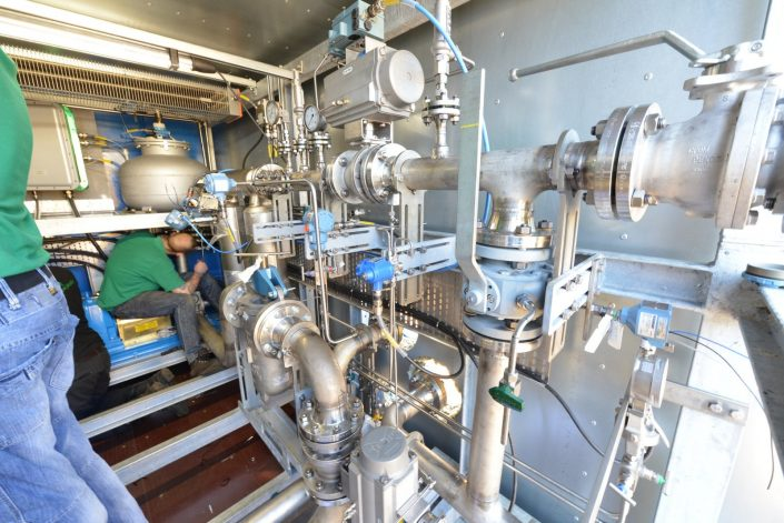 In Control Projects Containerised Metering Skid for Diesel